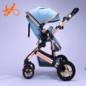 Alloy frame baby buggy stroller / light weight baby pram strolley / 2-in-1 baby stroller