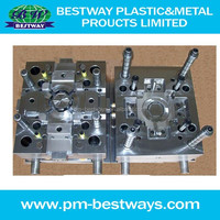 plastic injection nut mould with customized