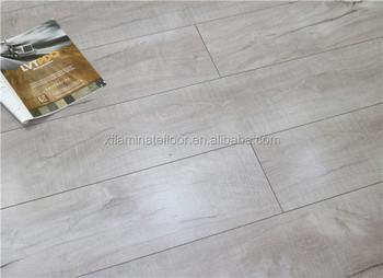 white washed wooden matt surface mdf laminate flooring