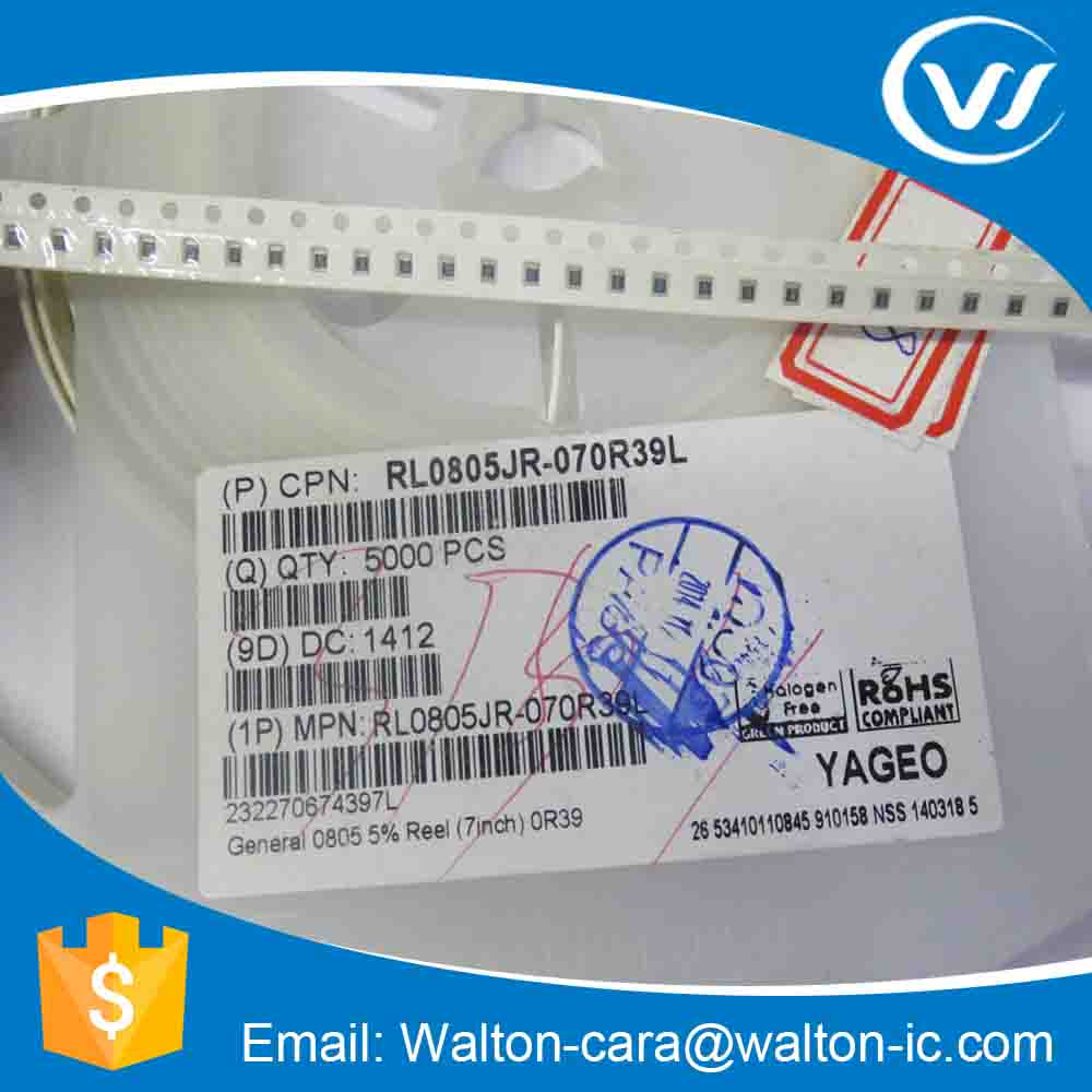 New & Original Current Sensing Resistor RL0805JR-070R39L