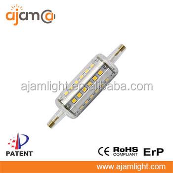 R7s led bulb 78mm with high lumen 150w halogen led for R7s 150w led