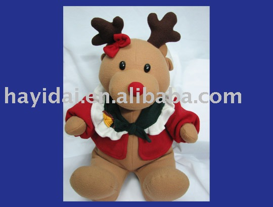 Plush Chriamas deer