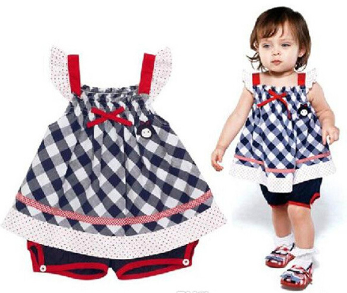 a555dc9b1 Buy baby girl clothing set party vintage fashion 2015 kids clothes Bowknot  suspender T-shirt + pant Two-piece vetement enfant fille in Cheap Price on  ...