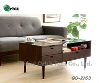 Home furniture MDF living room center table with storage drawer