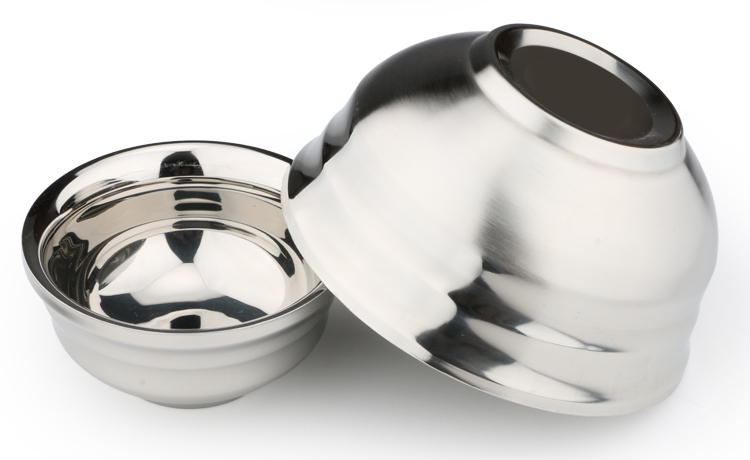 Hot selling Korean stainless steel bowls rice bowls and soup bowls for household and restaurant use