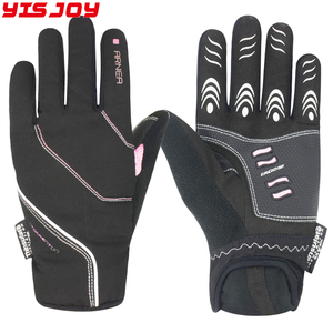 Mens Heated Mountain Bicycle Gloves Winter Road Cycling Bike Gloves