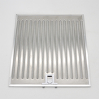 Stainless steel washable range hood baffle grease filter