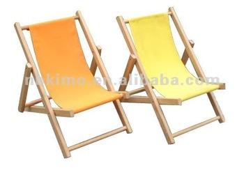 Kleine grootte houten strand stoel voor kinderen leisure stoel