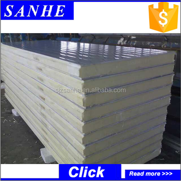 Sandwich panel manufacturers supply polyurethane sandwich panel