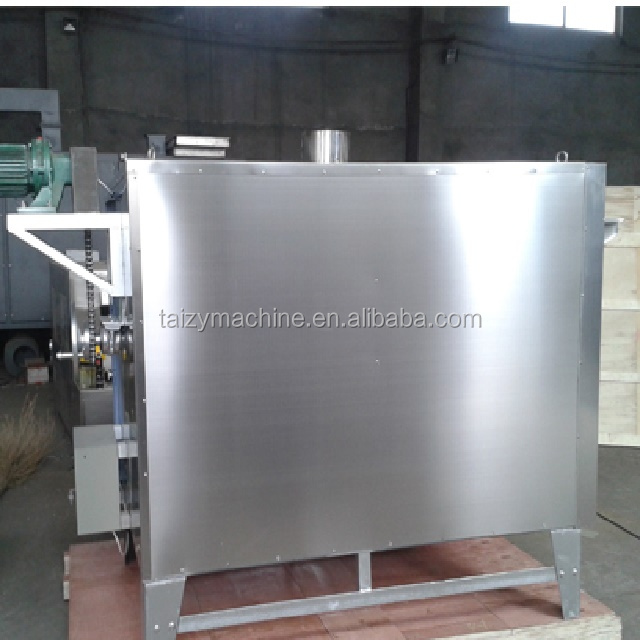100kg/h almond nut roaster machine/ground nut continuous roasting equipment