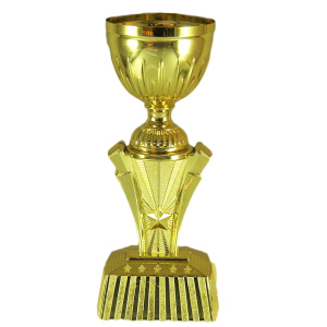 Manufacturer custom resin sport trophy, high quality plated trophy