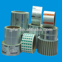 quality control labels on rolls manufacturing