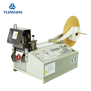 Factory best price Automatic machine to make clothing label cloth label cutting machine