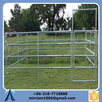 super unique and wrought iron galvanized steel field horse fencing