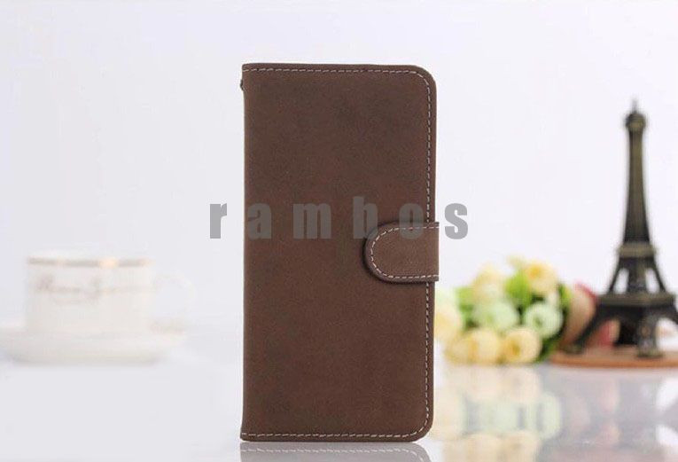 PU Leather Flip Card Wallet Purse Phone Case Cover for Samsung Galaxy 2 Win Pro G3812 Grand 2 Duos G7106 Core Advance i8580