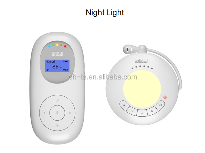 baby phone audio baby monitor with cute toy baby nursery light