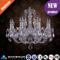 Commercial meeting room decoration bohemia chandelier crystal