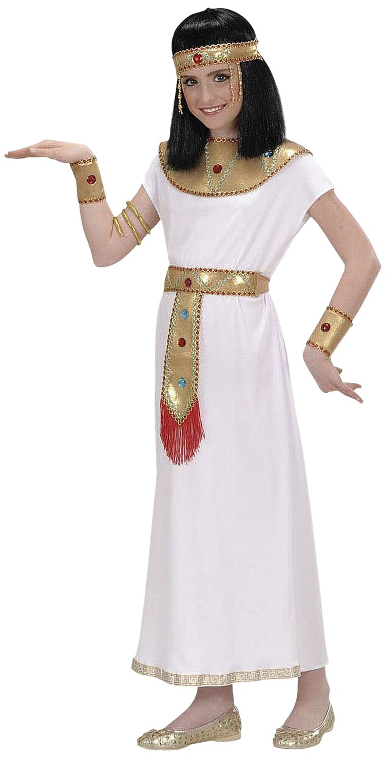 GIRLS CLEOPATRA EGYPTIAN FANCY DRESS COSTUME OUTFIT