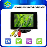 3.5 inch car monitor FOR DVD/VCR/GPS player