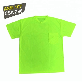 High visibility shirts wholesale men's t-shirts