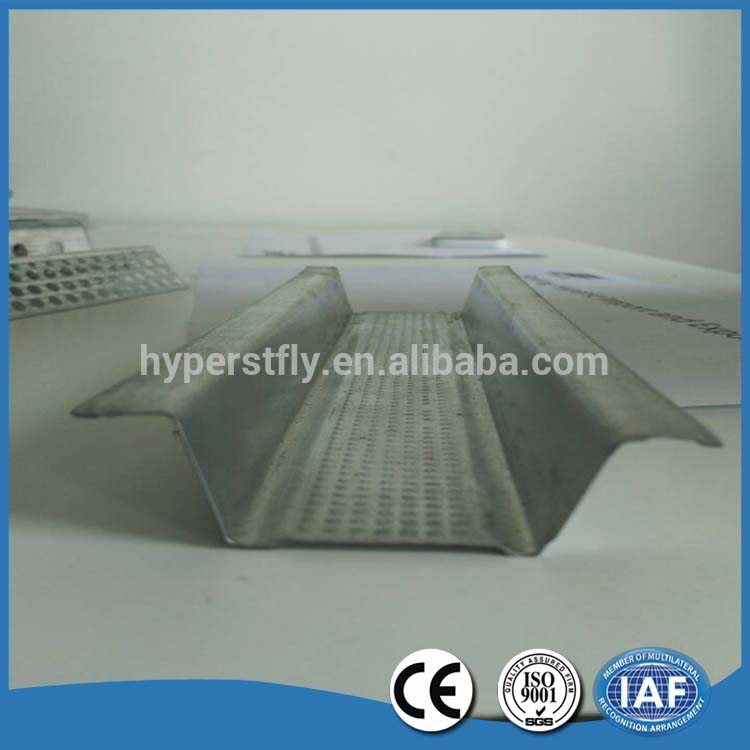 Galvanized hat furring channel for suspended ceiling system