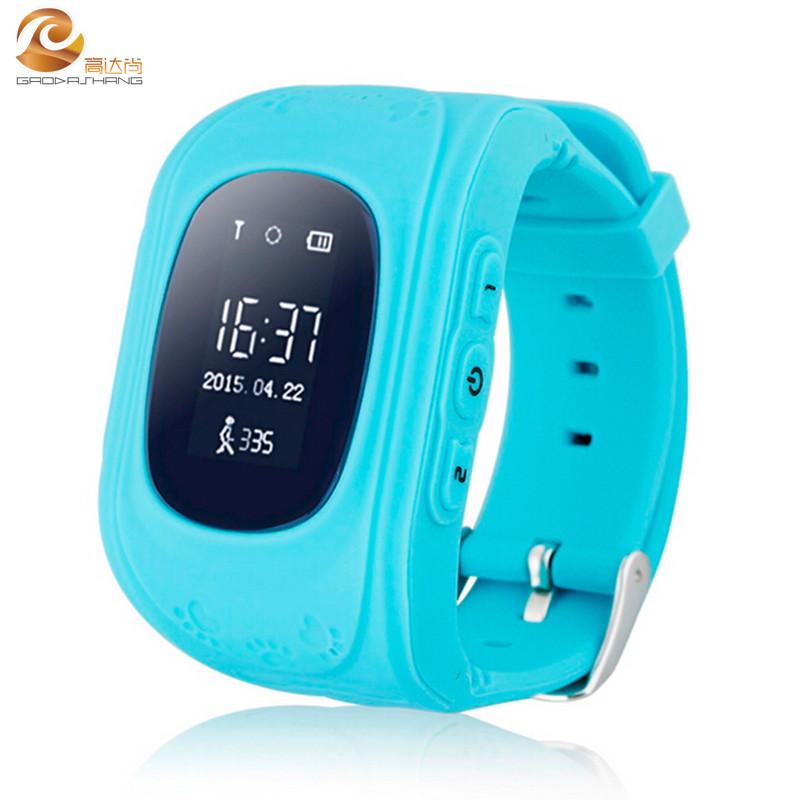 Smart Phone Watch Children Kid Wristwatch Q50 GSM GPRS GPS Locator Tracker