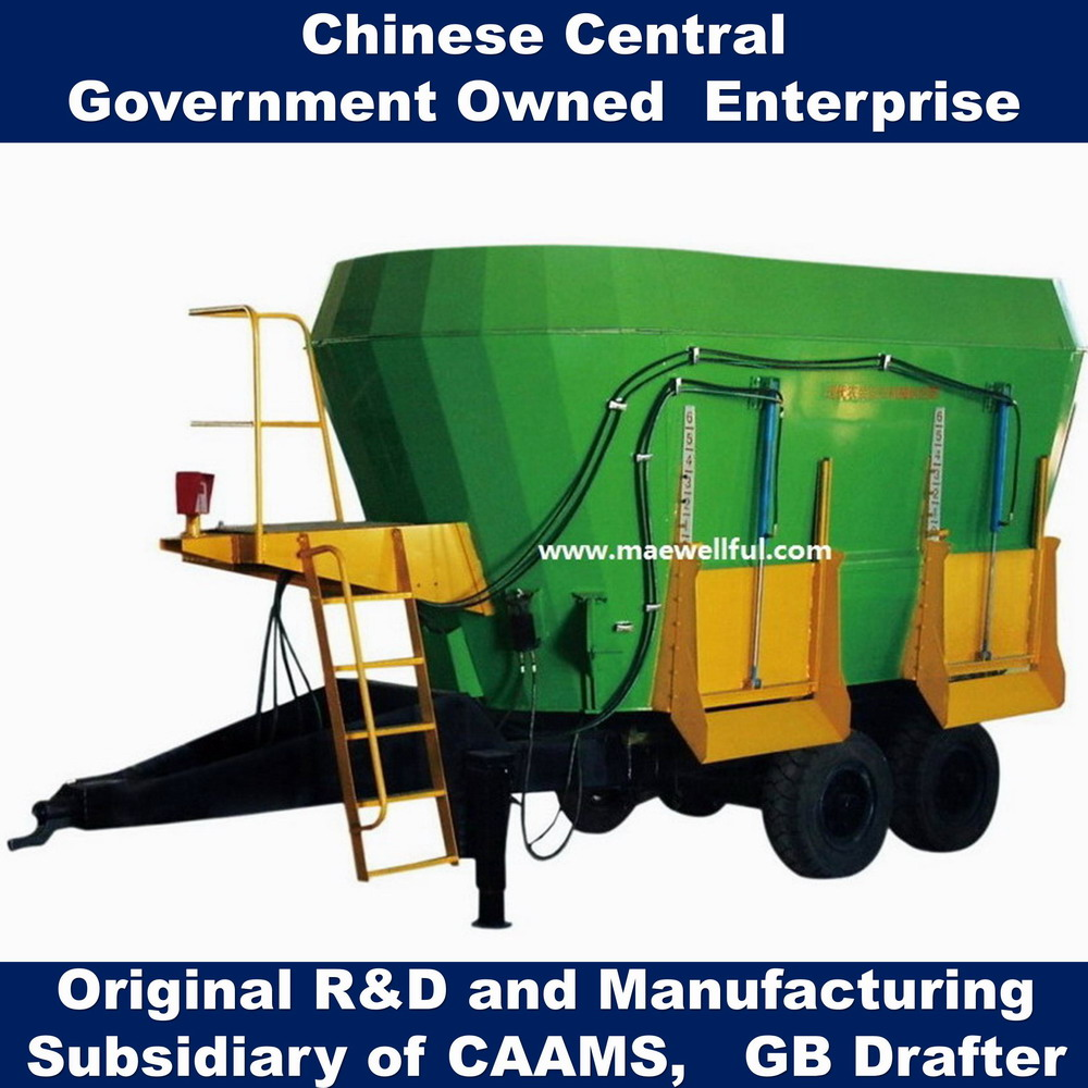 Double Auger Cattle Feed Mixer/dairy Farm Equipment Tmr Diet Mixer - Buy  Vertical Feed Mixer,Cattle Feed Mixer,Animal Feed Mixer Product on
