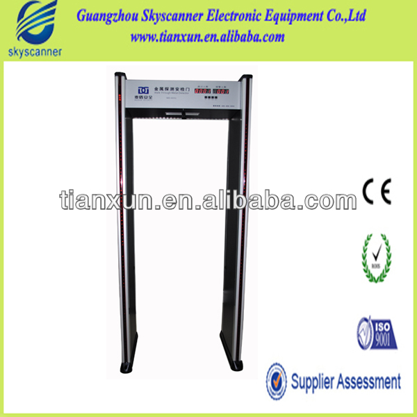 Manufacturer Super Scan Walk Through Body Scanner MD-600E Metal Security Gates