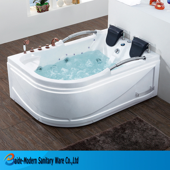 factory luxury price india acrylic tub light up massage bathtub