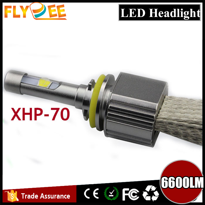 Hot sale super bright L7 55W 6600LM CREEs xhp70 LED H1 H3 H4 H7 H8 H9 H10 H11 H13 9005 HB3 9004 9006 9007