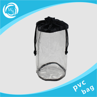 Clear Cheap Recycled Wine Ice Packing Plastic PVC Bag
