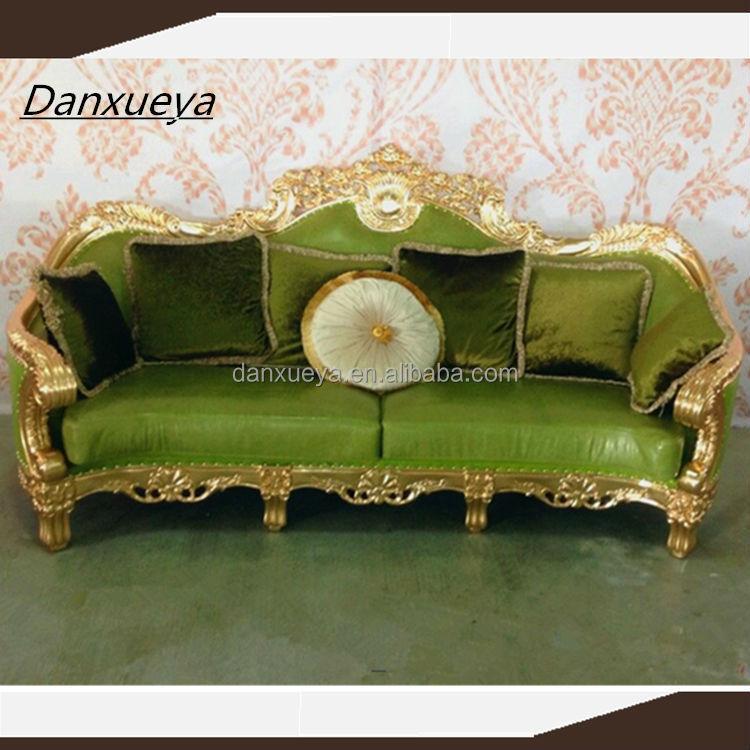 DanXueYa GREEN LEATHER Sofa/sofa Set Dubai Leather Sofa Furniture/italian  Furniture Made In Part 98