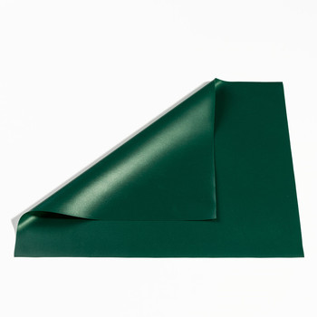 KM eco-friendly soft pearlescent dark green pvc film/sheet/raincoat fabric