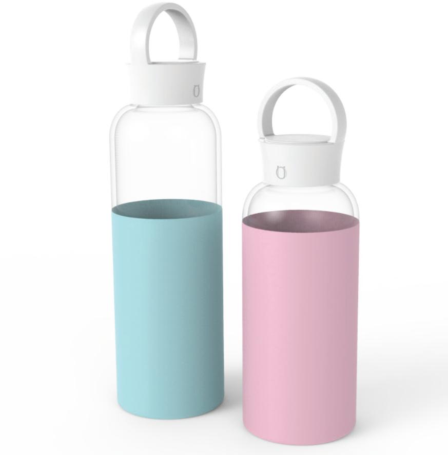 Новый best Высокое качество Экологичные взрослых тренажерный зал портативный Изолированные стеклянная бутылка для напитков