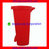 50L Heavy Duty Waste Plastic Foot Step Room Dustbin