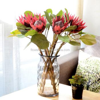 Promotional cheap artificial flower silk protea flower 50cm promotional cheap artificial flower silk protea flower 50cm artificial protea flower artificial king protea flower fake mightylinksfo