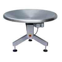 New electric stainless steel rotating table of food medical chemistry