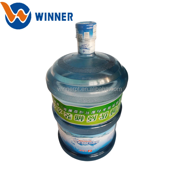 2018 new PVC PET printing shrink sleeve label for water bottle 5 gallon