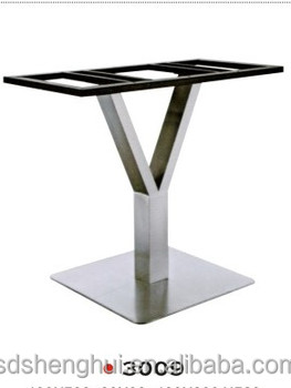 Dining Room Furniture Part Y Shaped High Quality Stainless Steel Dining Table  Base Table Leg Metal