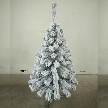 120cm flocking christmas tree artificial pvc self snowing christmas tree - 120cm Flocking Christmas Tree Artificial Pvc Self Snowing Christmas