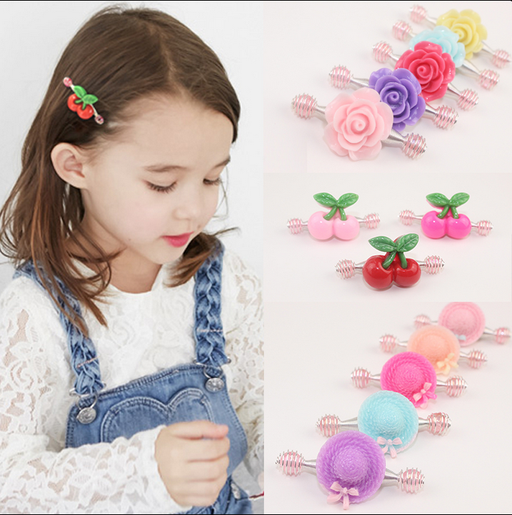 cute lovely hairpins candy color BB hairclips Baby kidsToddler Hair Clips Hairpins protect hair