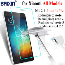 Amazing 9H 0.3mm Tempered Glass screen protector for Xiaomi REDMI NOTE 2 redrice note2 HONGMI NOTE2 Explosion-proof Film