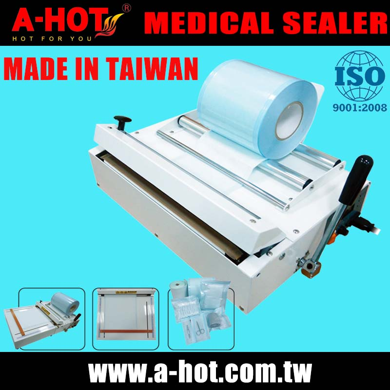 Medical Sealing Machine Dental Sterilization Pouch Wrap Sealer Laminator Medical Sterilize Roll Packing Laminating Machine 250mm Numerous In Variety Office Electronics
