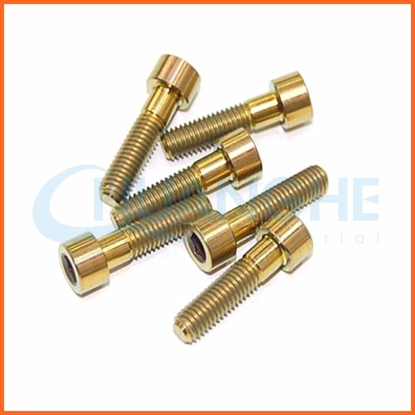 bearing m4 square head titanium bolt