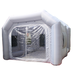 Auto Portable Spray Booth Car Workstation Inflatable Used Paint Booth