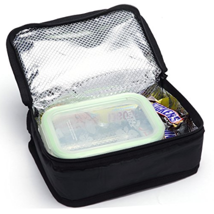 Portable Food Storage Insulated Cooler Bag Box Thermal Lunch Box