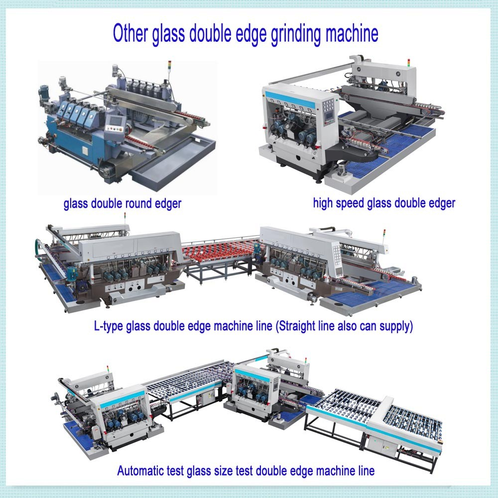 JFD-2025 20 Spindles horizontal glass double edge and grinding machine for Max glass 2500mm