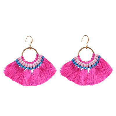 Hot Fringed Statement Earrings For Women Wedding Gifts Boho Tassel Drop Dangle Earrings Jewelry