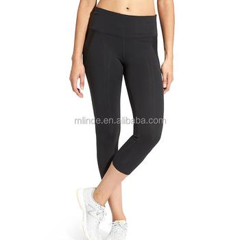 04ba400393 Guangzhou China Women Appeael Wholesale Plain Leggings Capris Jogging Fitness  Sports Leggings Fancy Pants Gym Wear