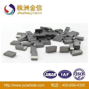 YG8 Tungsten carbide saw tips for welding cutter tools